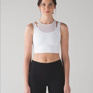 0eccedb1e5 lululemon athletica Tops - NWT lululemon high neck mesh sports bra - size 4